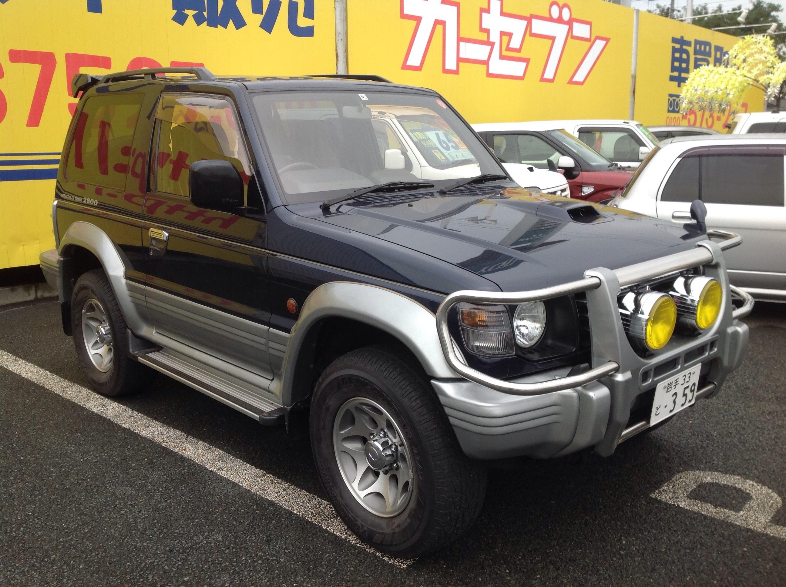 Mitsubishi pajero used car